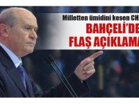 MHP'li lideri Bahçeli'den flaş açıklamalar