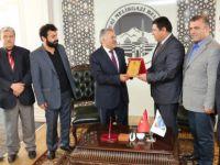 Türkiye Yazarlar Birliği üyeleri Melikgazi Belediyesini ziyaret etti