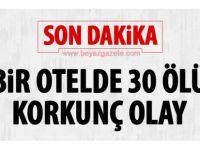 Otele çığ düştü: 30 ölü