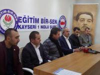 """Eğitim Bir Sen Kayseri Şube Başkanı Kalkan, """"İyi bir gelecek için yeni bir müfredata ihtiyaç var"""""""