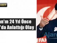 Cumhurbaşkanı Erdoğan'ın Refah Partisi Isparta İl Kongresi'nde yaptığı konuşma