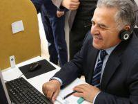 Başkan Memduh Büyükkılıç, İletişim Merkezinde