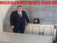 Kayseri İl Başkanı Osman Alp Kahya: