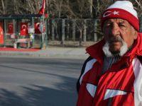 Kayseri'de 38 gündür nöbet tutuyor