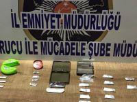Kayseri'de Operasyon Sakız kutularından uyuşturucu 7 gözaltı