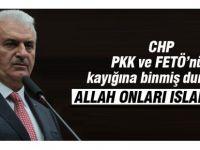 Başbakan, CHP'yi FETÖ ve PKK'nın yanında yer almakla suçladı