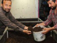 Melikgazi Belediyesi solucan gübresi üretiyor
