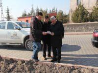 Başkan Karayol Örenşehir Mahallesinde yapılacak olan park yerini inceledi
