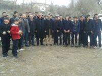 Başkan Halit Demir'den öğrencilere sucuk ziyafeti