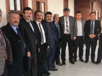 Kayseri Ziraat Odası Başkanlarından KON TV Ankara'ya 'hayırlı olsun' ziyareti