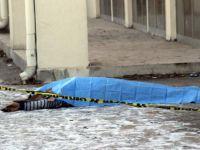 Keykubat'ta 4. kattan düşen şahıs hayatını kaybetti