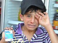 Mendil satan, araba silerek dilenen 61 çocuğa işlem yapıldı