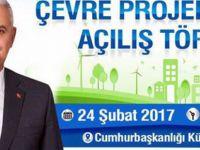 Başbakan Binali Yıldırım Çevre Projeleri Açılış Töreninde Konuştu