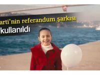 AK Parti'nin referandum şarkısı