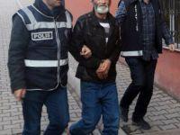 Kayseri'de babasını tüfekle öldüren şahıs adliyeye çıkarıldı