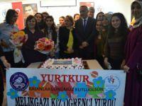Melikgazi Kız Öğrenci Yurdu'nda kutlama