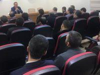 Büyükelçi Nurhan Kayseri Eğitim Bir Sen'de Avrupa'nın ikiyüzlülüğünü anlattı