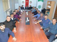 Şeker-İş Sendikası Kayseri Şubesi Koordinasyon Toplantısı yapıldı