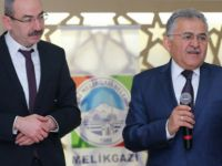 Melikgazi'de Kazancılar Çarşısı Projesi