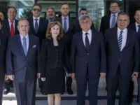 Slovakya Kayseri Fahri Konsolosu Gülkdüoğlu,Slovakya Büyükelçisi, Büyükşehir Belediyesi'ni ziyaret etti