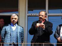 Bakan Özhaseki Sarız ve Pınarbaşı ilçelerini ziyaret etti