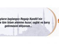 Kayseri Osb Regaip kandili mesajı