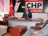 """CHP İl Başkanı Feyzullah Keskin: """"Kayserili 'hayır'ı sever"""""""