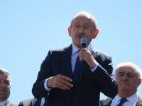Kılıçdaroğlu Sarız'da vatandaşlarla buluştu