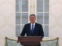 Abdullah Gül'den flaş bayrak mesajı: