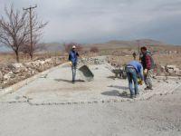 İncesu Belediyesi Örenşehir Mahallesinde çalışmalarını hızla sürdürüyor