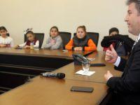 Başkan Palancıoğlu, öğrencilere belediyeciliği anlattı