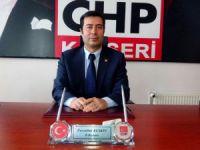 CHP Kayseri İl Başkanı Feyzullah KESKİN 1 Mayıs İşçi ve Emekçi Bayramını kutladı