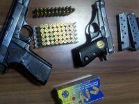 Kayseri'de ruhsatsız silah operasyonu 4 kişi gözaltına alındı