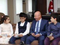 Kocasinan Akademi'nin küçükleri Kayseri protokolü ile röportaj yaptı