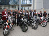 Motor sporcularını Başkan Yardımcısı Hasan Kılıç misafir etti