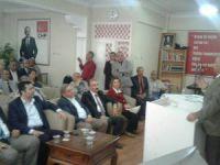 CHP Kocasinan İlçe Başkanlığı Danışma Kurulu Toplantısını Yaptı