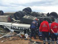 Kayseri'de zincirleme trafik kazası: 8 yaralı