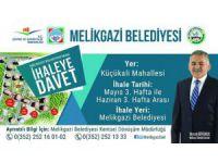 Melikgazi Belediyesi İhaleye davet