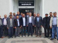 Bünyan çiftçilerinden Başkan Akay'a Tam destek ful destek ziyareti