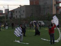 İncesu'da 14. Geleneksel Uçurtma Festivali düzenledi