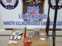 Kayseri'de uyuşturucu ticareti yapan 5 kişi yakalandı