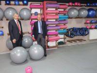 Başkan Çolakbayrakdar,Çelik Başkanla Akademi Yakut Tesisinde
