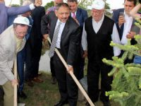 Bakan Özhaseki 15 Temmuz Şehitleri Anısına 248 Bin Fidan Dikim Töreni'ne katıldı