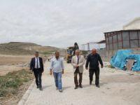 İncesu Belediyesi Süksün Mahallesinde parke çalışmalarına devam ediyor