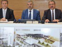 Erciyes Üniversitesi'nde kütüphane yapım protokolü imzalandı