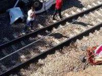 Himmetdede Kaza yapan Otomobil köprüden tren yoluna düştü: 1 ölü