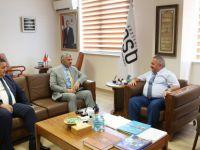 Çelik, Kayseri OSB yönetim Kurulu Başkanı Nursaçan'ı ziyaret etti