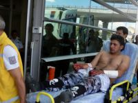 Suriyeli kardeşlerin motosiklet kavgasında kan aktı