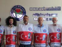 Memur-Sen Üyeleri 15 Temmuz Yürüyüşü'nde Şehitlerin Fotoğraflarını Taşıyacak