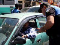 Sürücülere broşürlü 'Dilenci' uyarısı